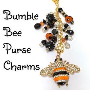 Bumblebee Purse Charms